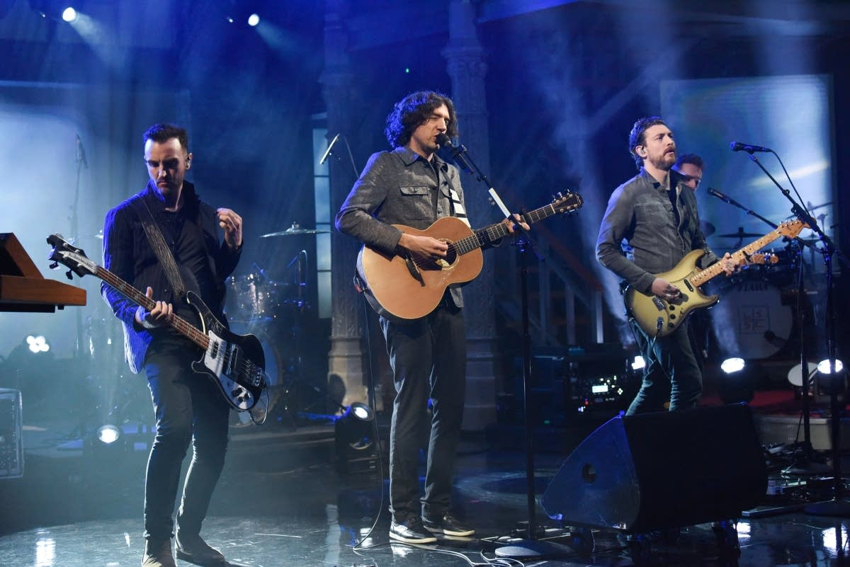 Snow Patrol on 'The Late Show with Stephen Colbert'