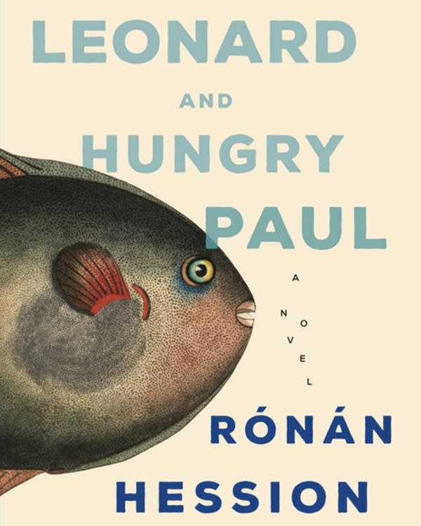 A book cover with an image of a fish.
