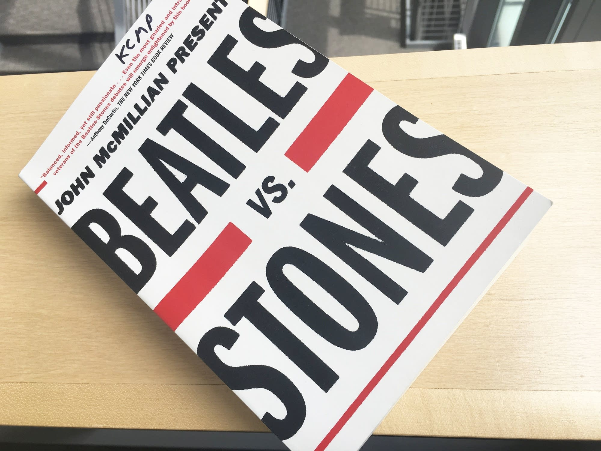 John McMillan's 'Beatles vs. Stones'