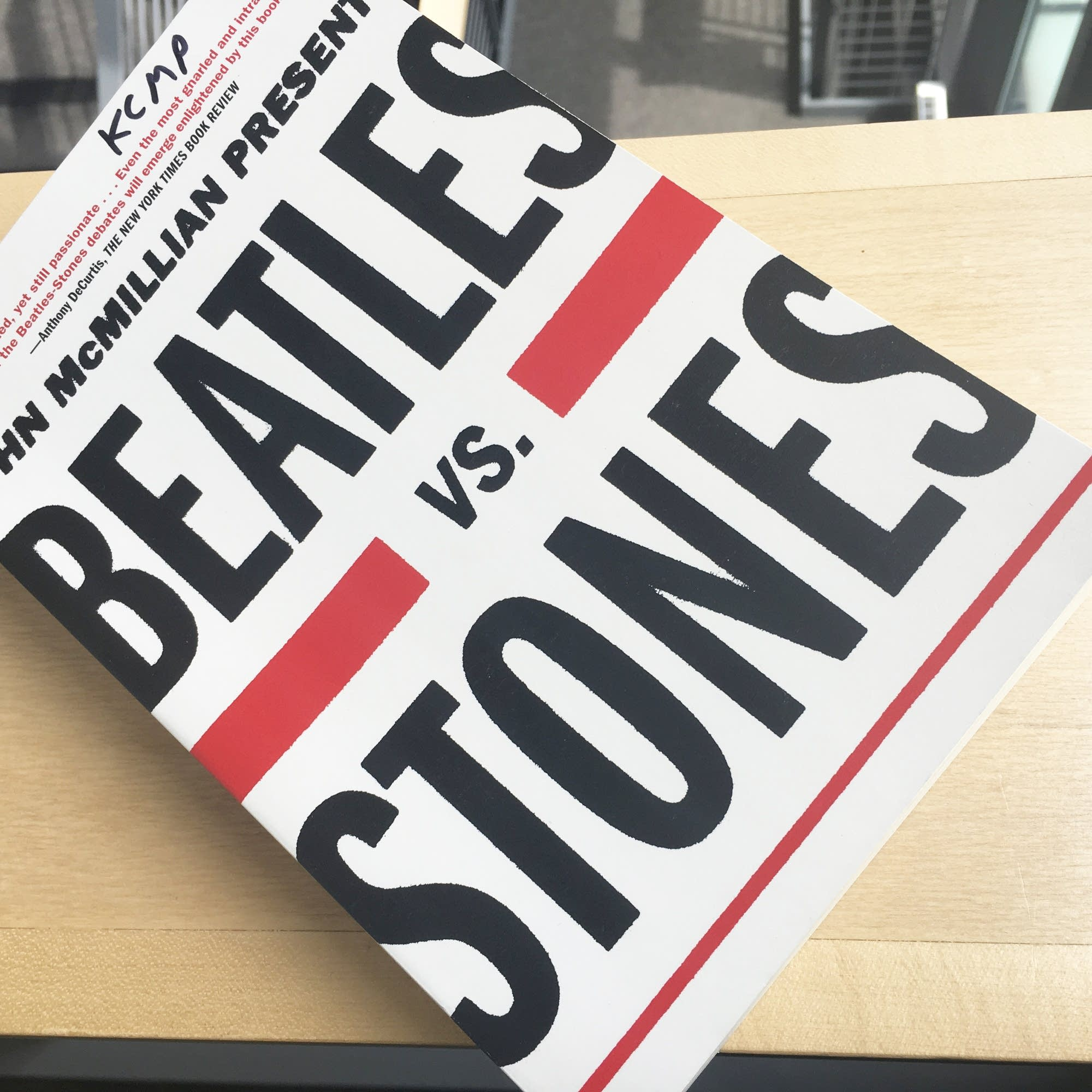 John McMillan's 'Beatles vs. Stones'