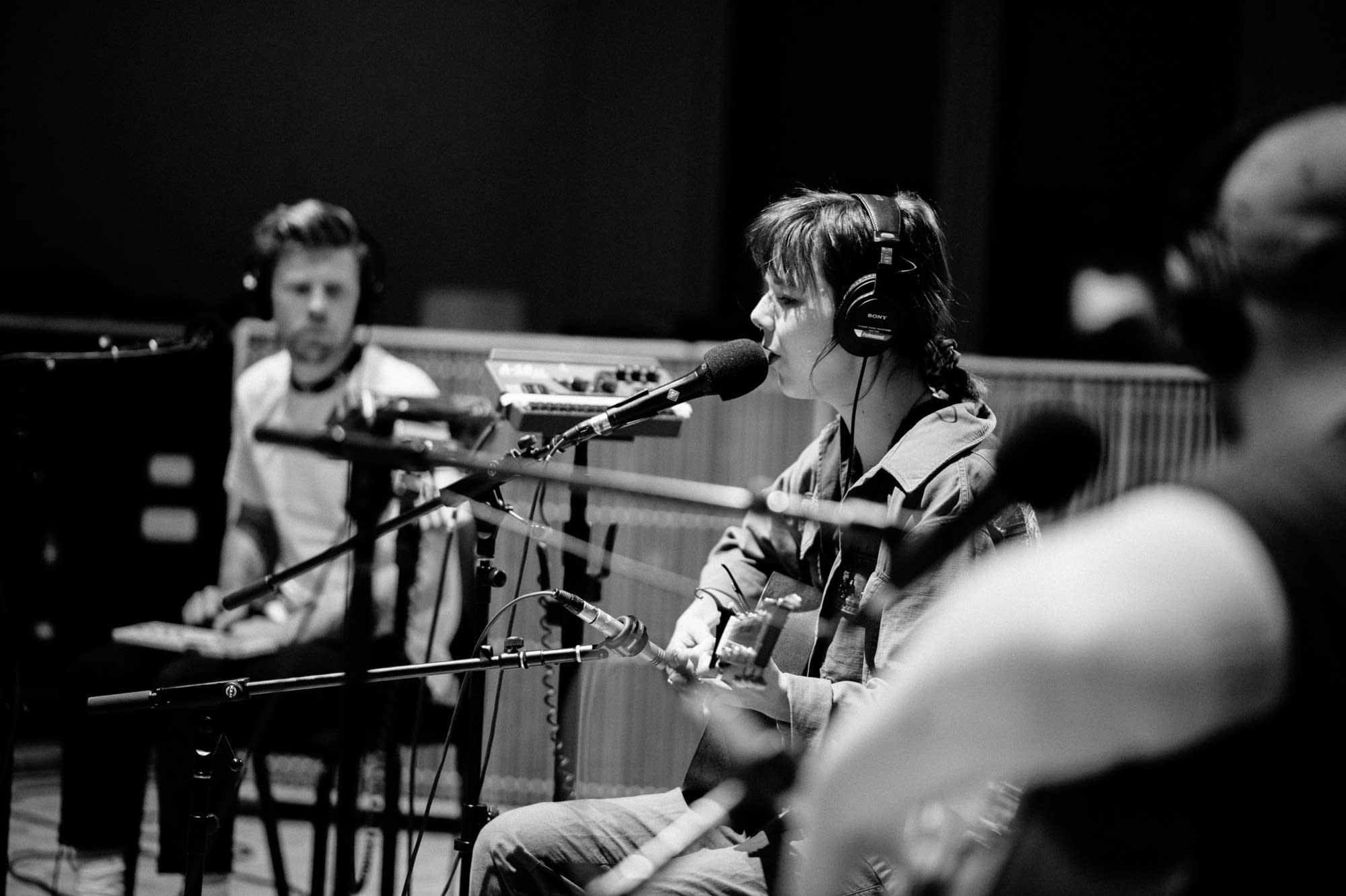 Of Monsters and Men perform in The Current studio