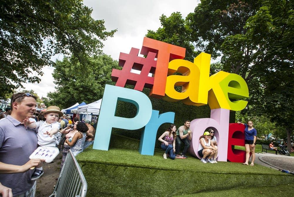 Pride photo spot