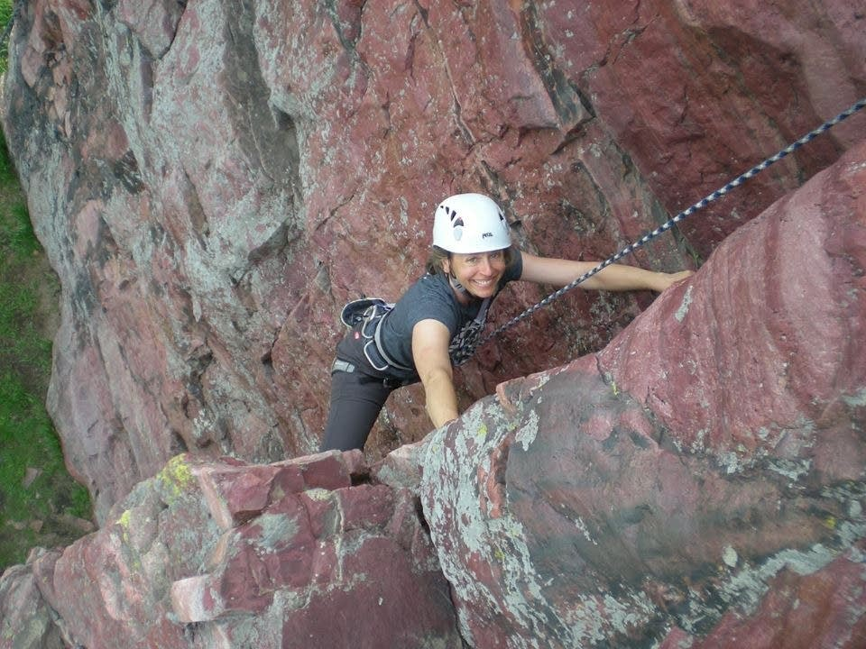 sport climbing blue mounds