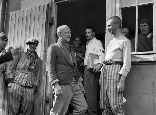 A group of Polish prisoners