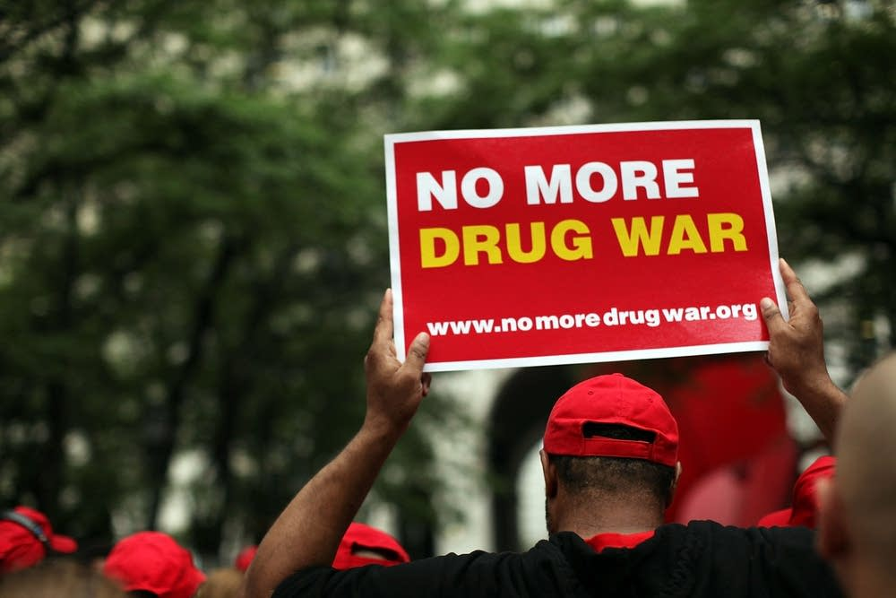 Drug War protest