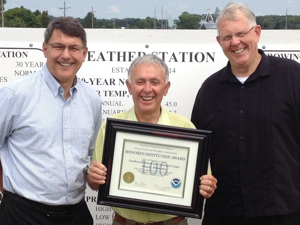 Recognition for 100 years of service