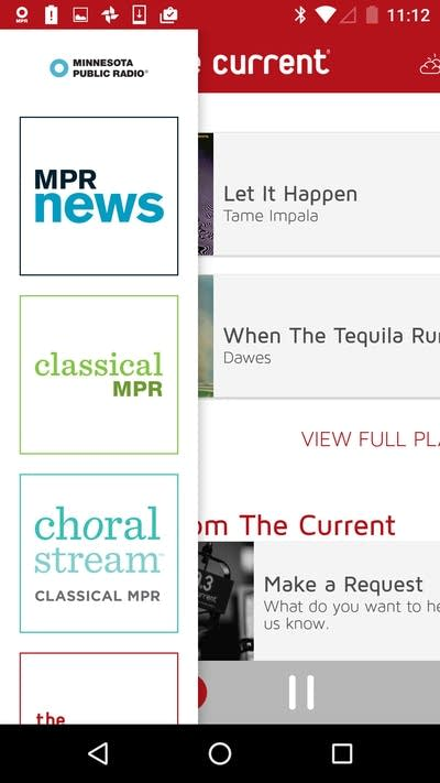 MPR Radio app for Android