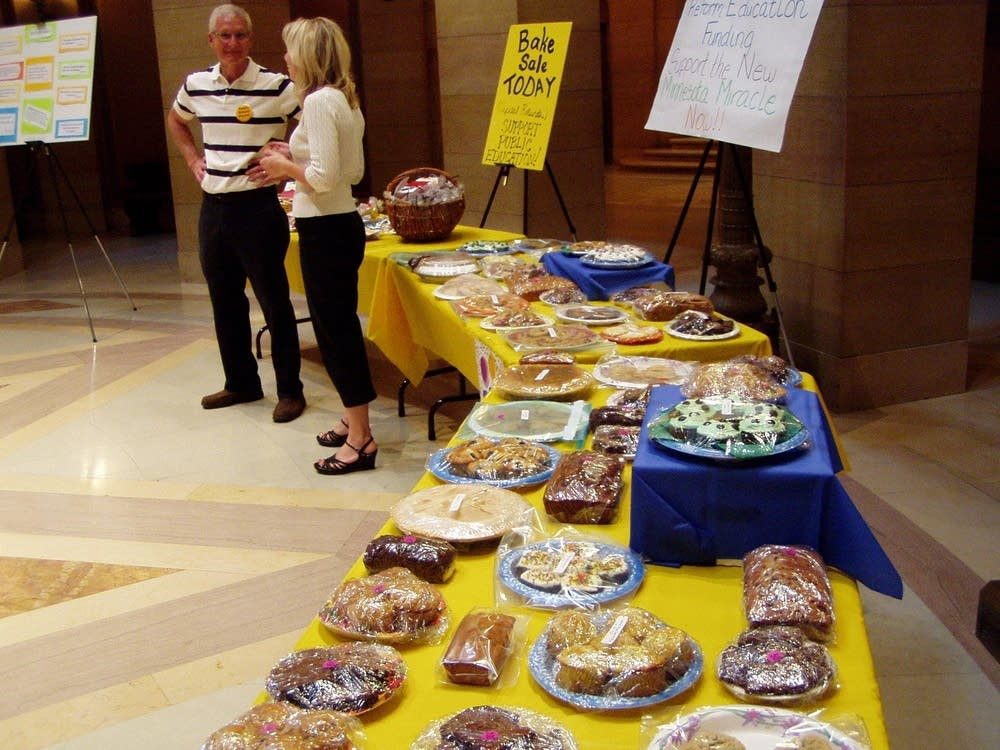 Symbolic bake sale