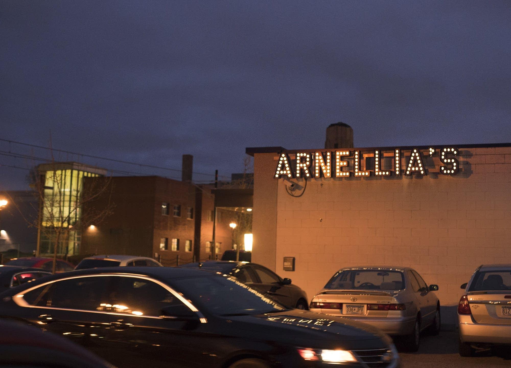 Arnellia's Bar and Restaurant on University Ave. W in St. Paul.