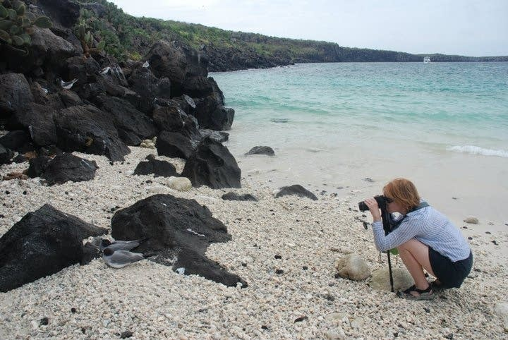 Cotner in the Galapagos