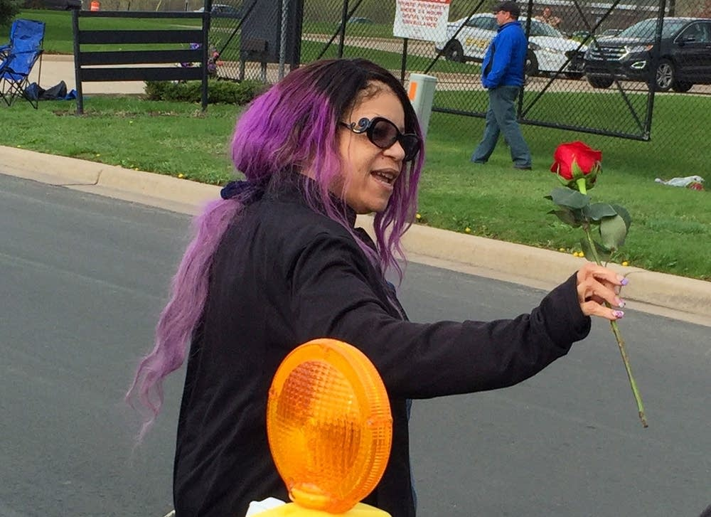 Tyka Nelson, Prince's sister, thanks his fans.