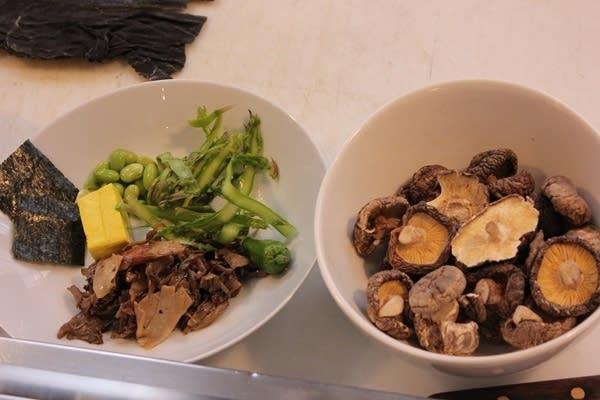 Vedge Noodle Bowl Ingredients