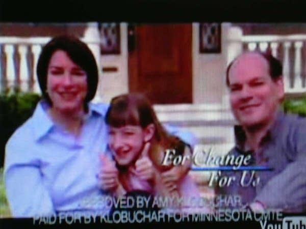 Klobuchar and family