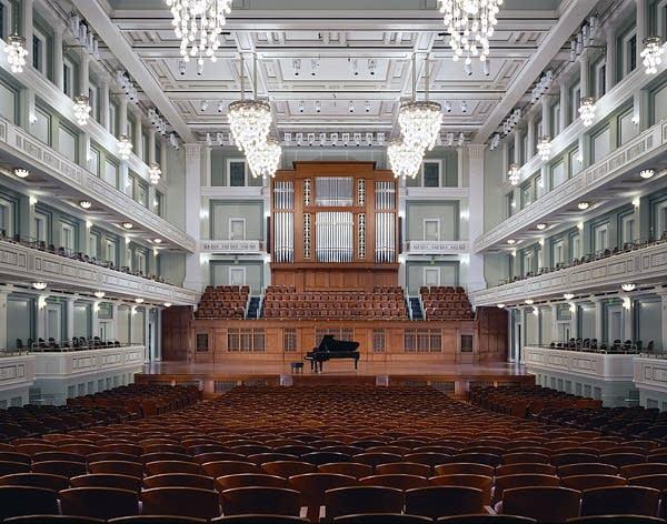 2007 Schoenstein organ at Laura Turner Concert Hall at the Schermerhorn Symphony Center, Nashville, Tennessee