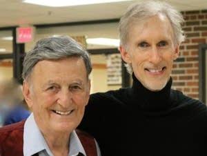 Mark McKenzie, right, and his mentor, Robert Ruberto.