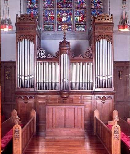 1878 Merklin organ at House of Hope Presbyterian, Saint Paul, MN