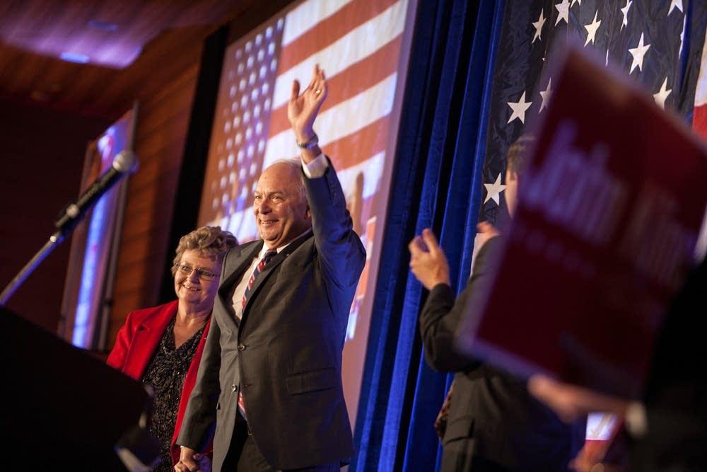 Rep. John Kline celebrates