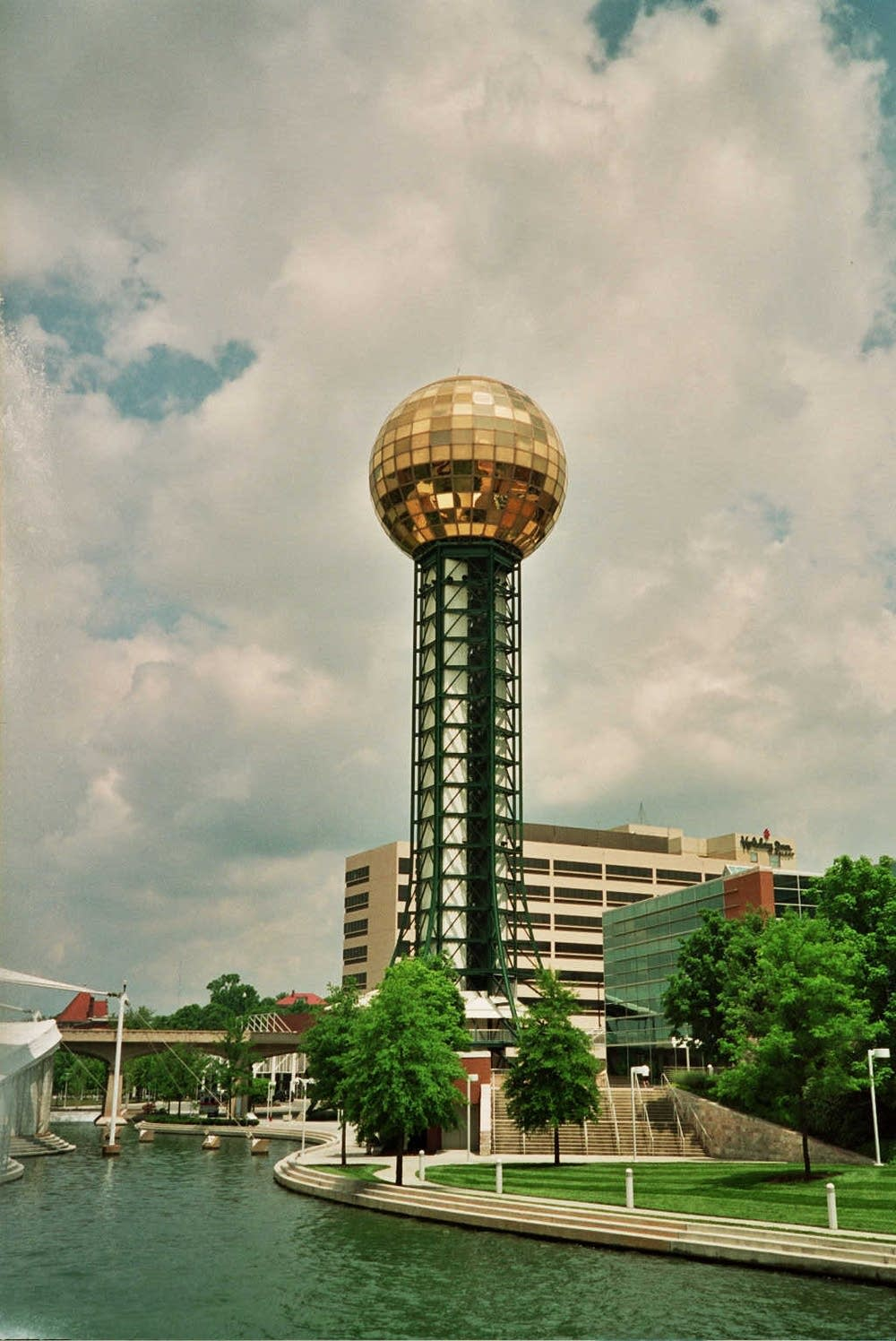 World's Fair Sunsphere in Knoxville
