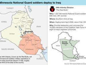 Another big Iraq deployment for Minnesota Guard | MPR News
