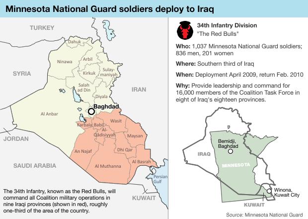 Graphic: Red Bulls in Iraq