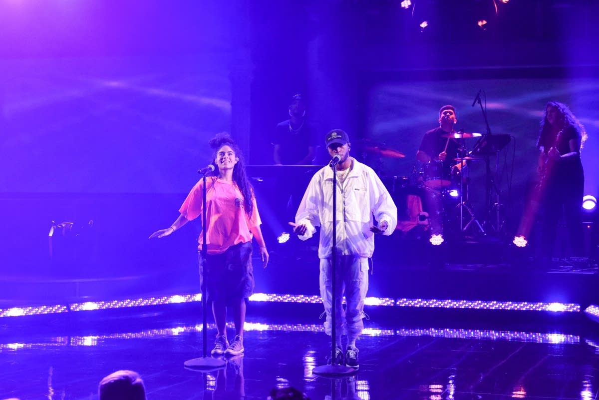 Jessie Reyez featuring 6lack on 'The Late Show with Stephen Colbert'