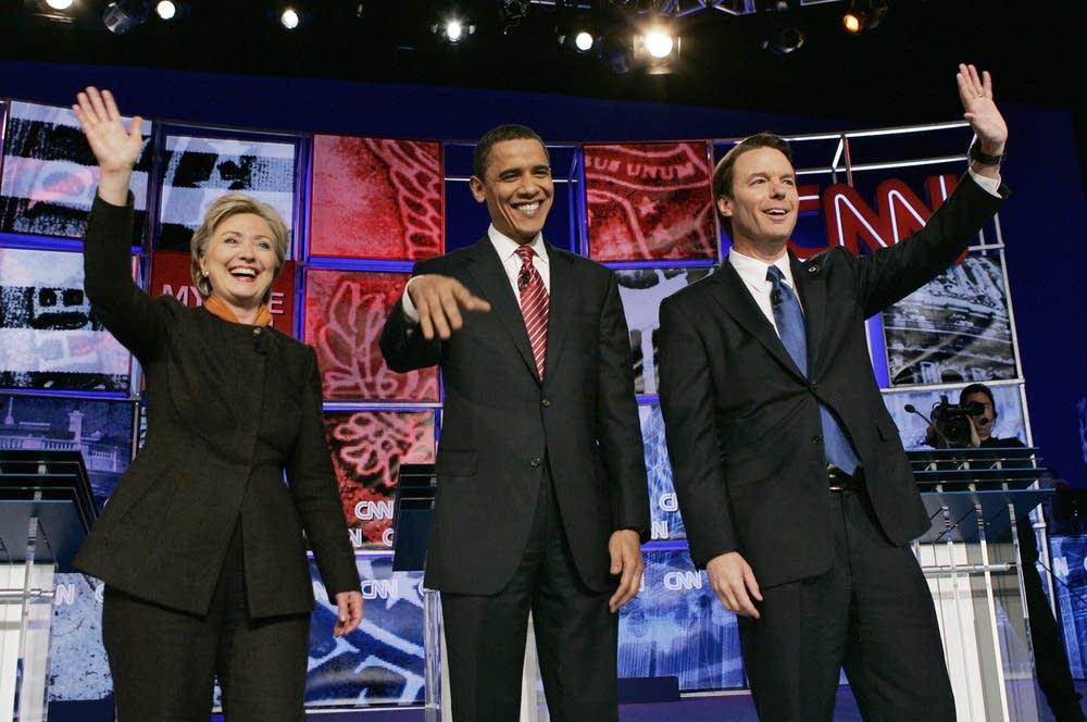 Clinton, Obama and Edwards