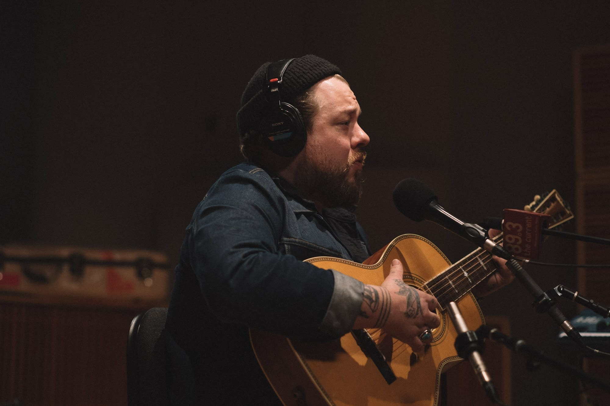 Nathaniel Rateliff performs a solo set at The Current