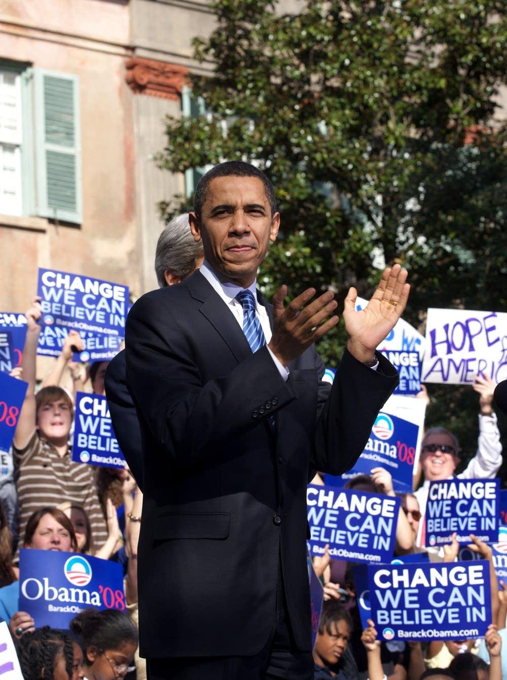 Obama in South Carolina
