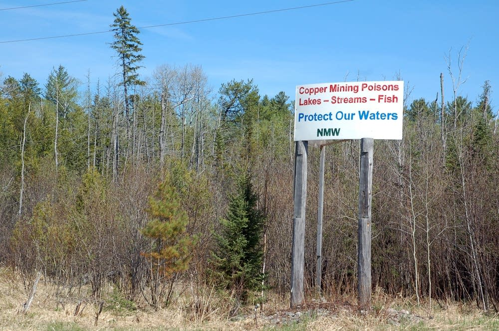 Anti-mining signs are also across the Range.