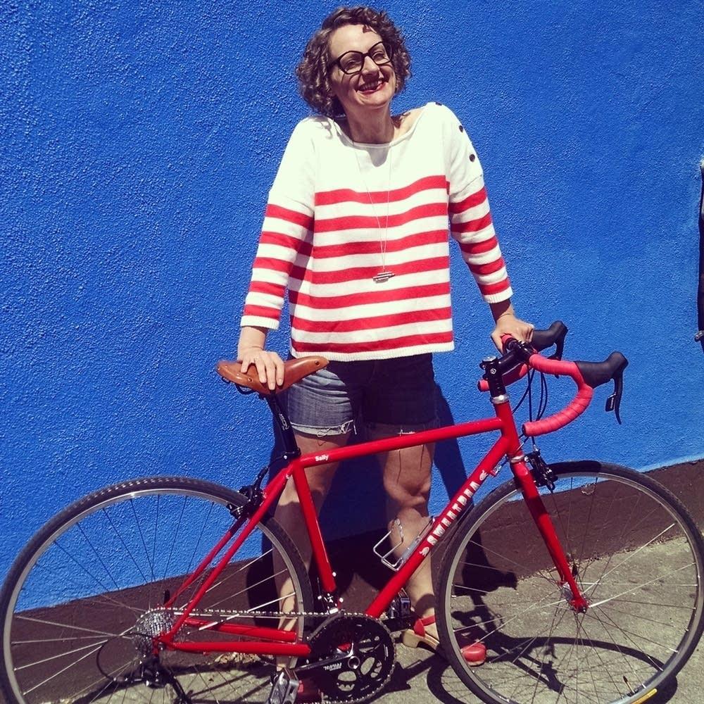 Leah Benson, owner of Portland's Gladys Bikes