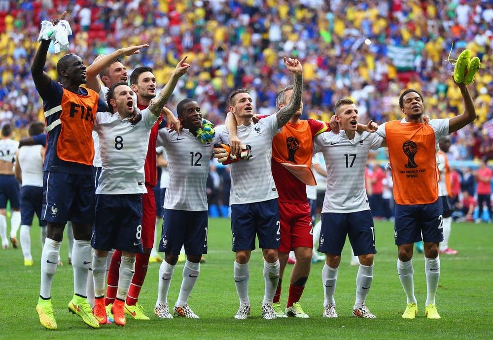 France v Nigeria: Round of 16 - 2014 FIFA World Cu