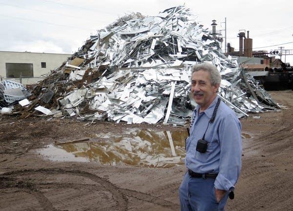 Mark Leder, co-owner of Leder Bros. Scrap Metal