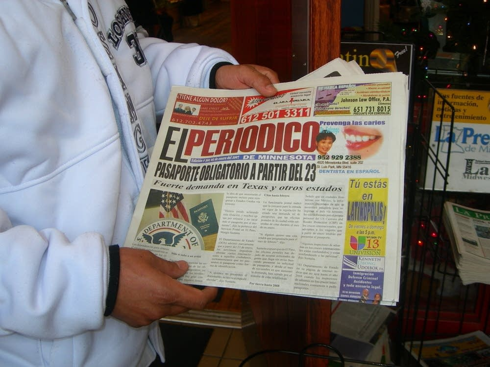Spanish-language newspaper