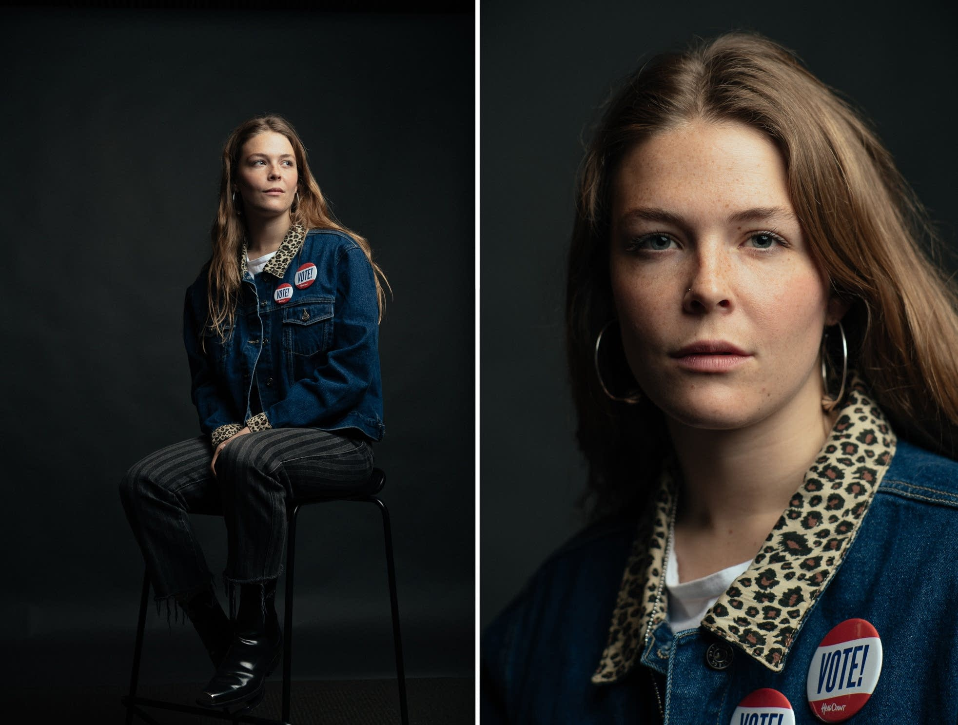 Maggie Rogers portrait at The Current