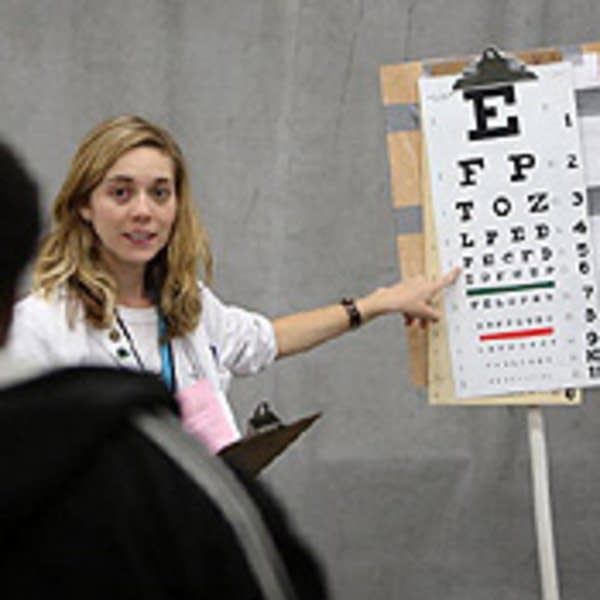 eye vision exam