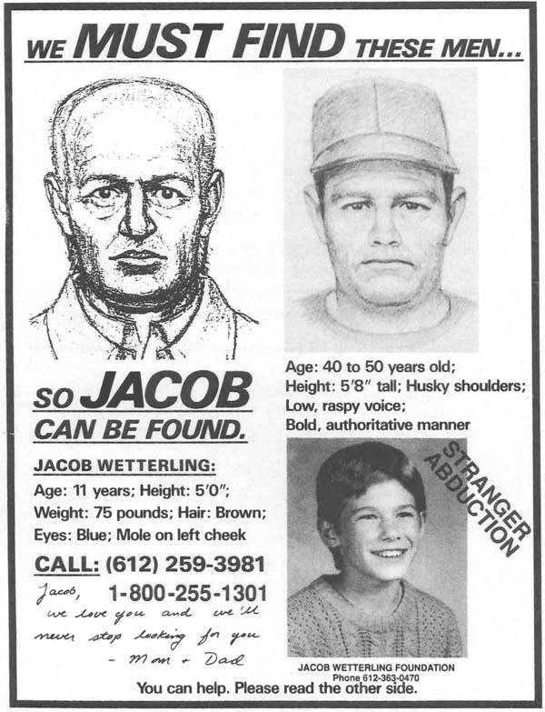 Jacob Wetterling poster