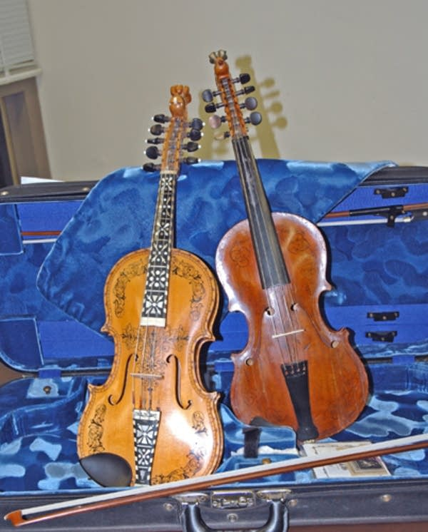 My two fiddles