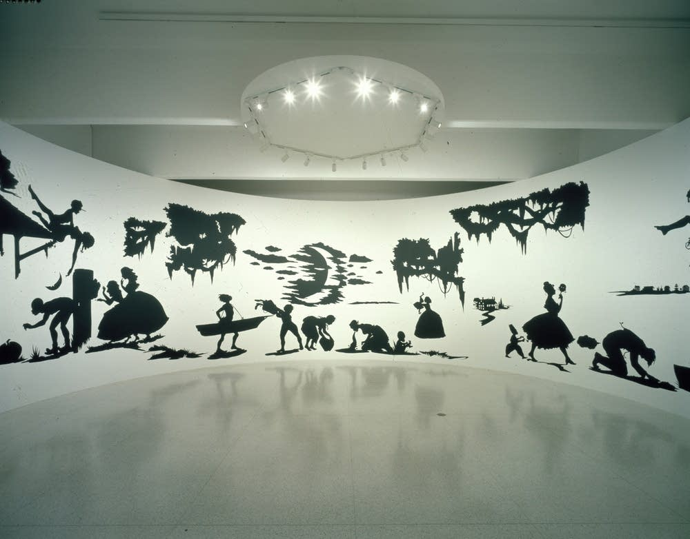Kara Walker's art traces the color line | Minnesota Public Radio News