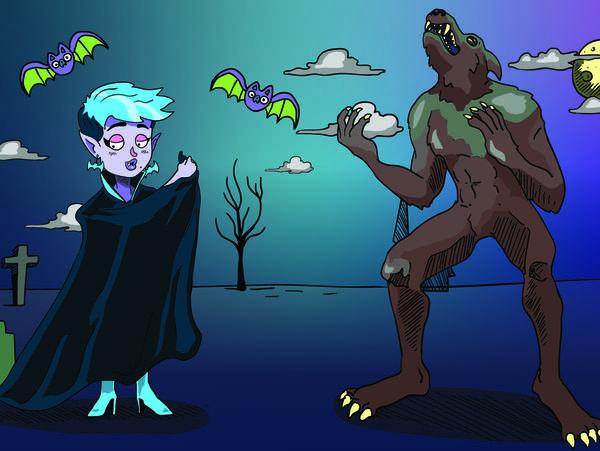 Smash Boom Best: Vampires vs Werewolves