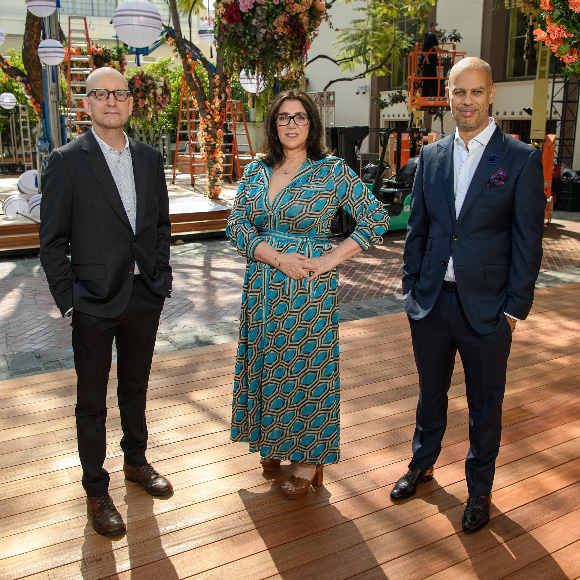 Steven Soderbergh, Stacey Sher and Jesse Collins