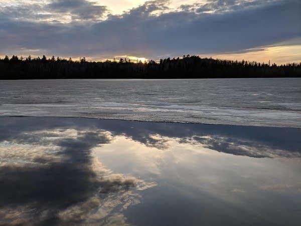 Sawbill Lake north of Tofte, Minn.