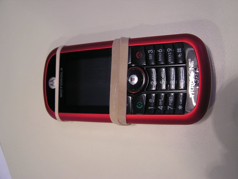 Les Larson's cellphone