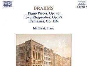 Johannes Brahms - 8 Piano Pieces, Op. 76: Intermezzo No. 3