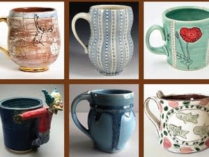 'Mug Shot 2' features 400 mugs on display.