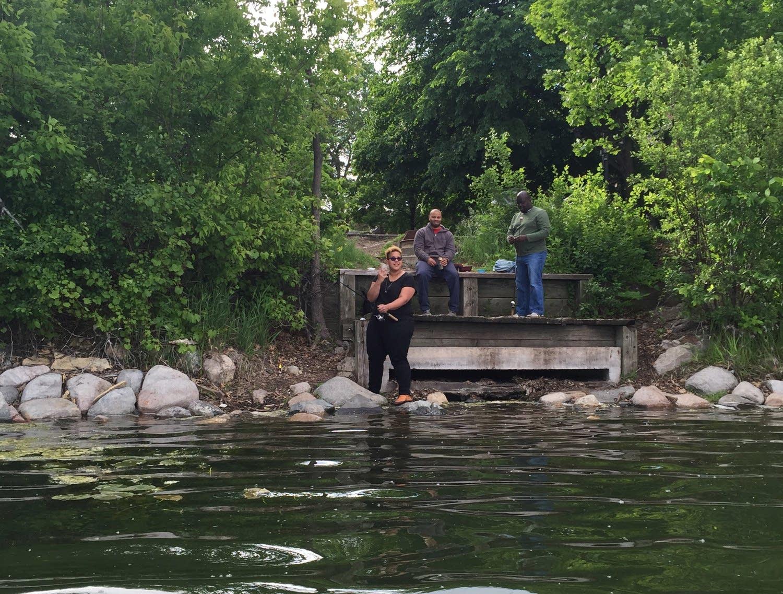Alabama Shakes go fishing