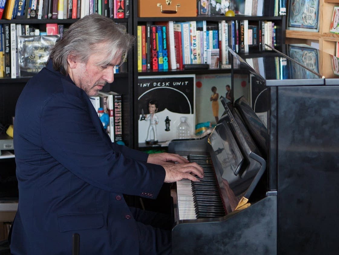 Pianist Barry Douglas performs at Tiny Desk