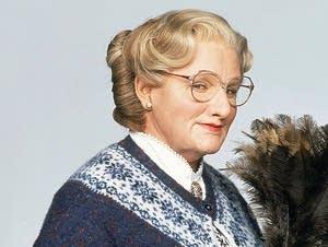 Robin Williams as 'Mrs. Doubtfire'