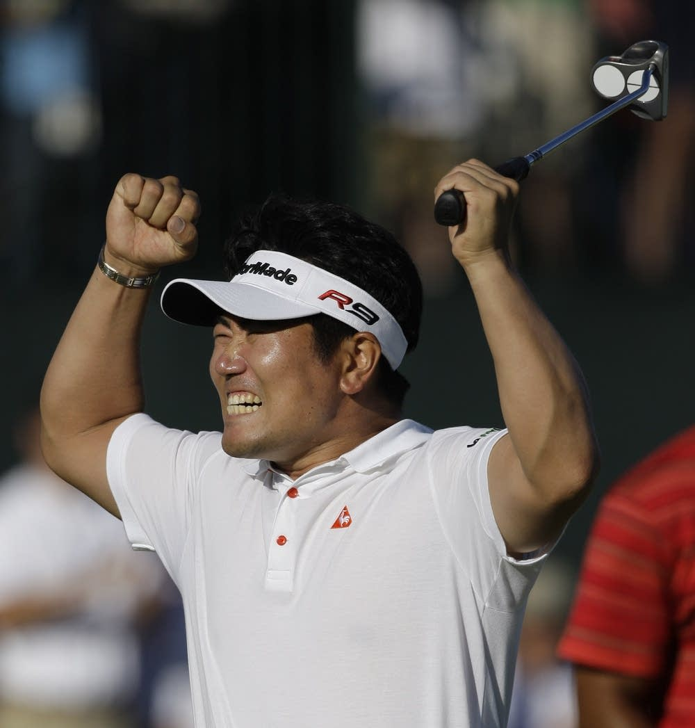Y.E. Yang wins the PGA