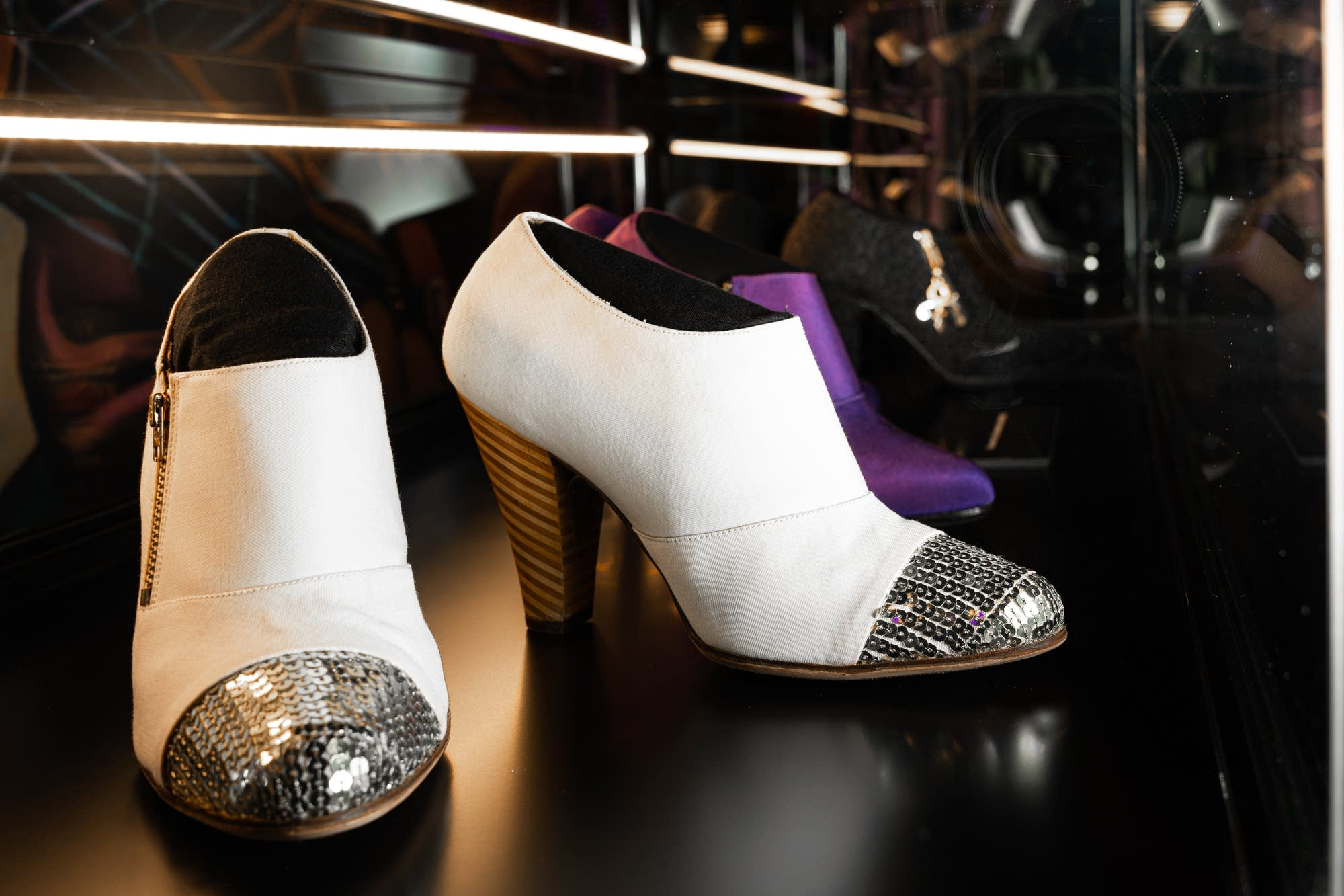 The Beautiful Ones shoe collection at Paisley Park