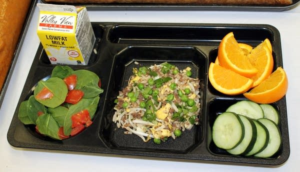 Healthy school meal